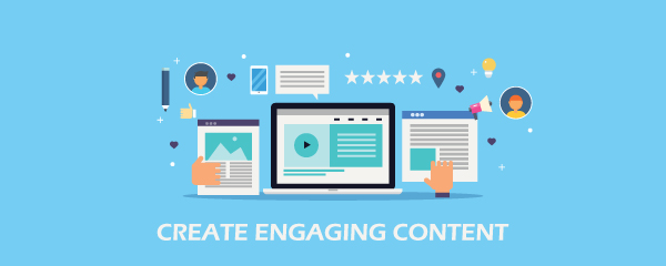 create engaging content graphic